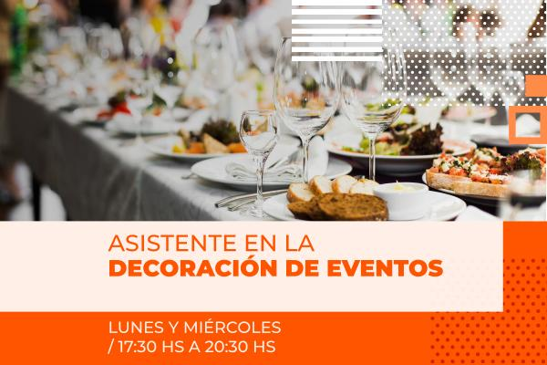 Asistente en Decoracion de Eventos